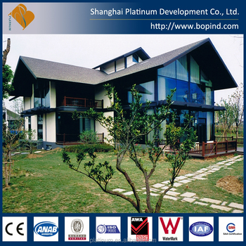 Cheap prefabricated steel structure easily assembled villa houses offsite construction