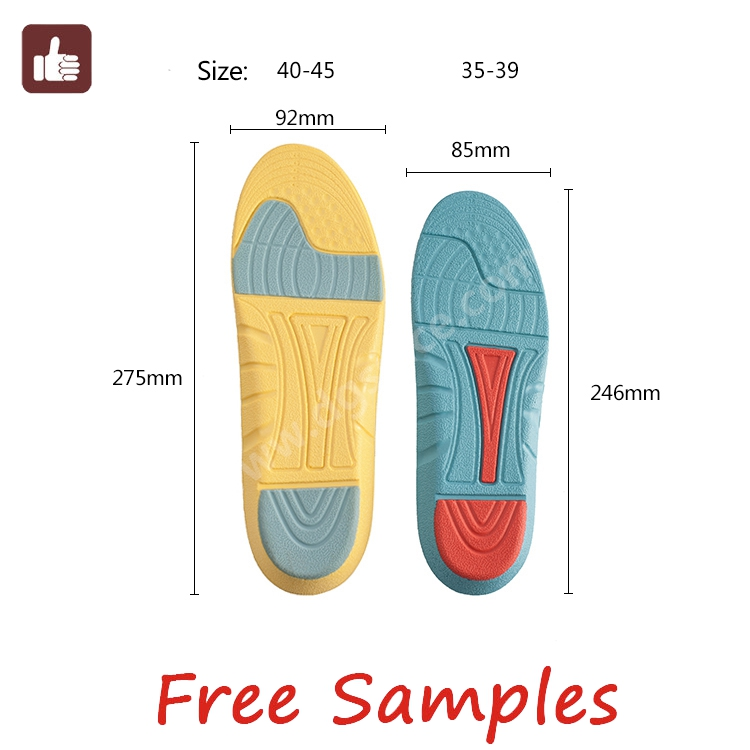 Hot selling message full length foam insoles for shoes