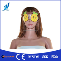 Cool therapy gel mask for eye cute fruit shape