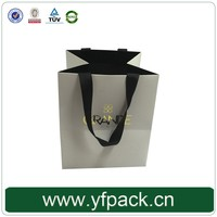 Luxury Custom Printing Shopping Logo Gold Foiled Popular Paper Selling Bag With Your Own Logo