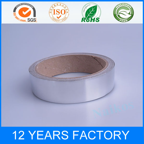 Factory Supply Competive Price Heat Resistant Rolled Silver Electric Aluminum Foil Adhesive Tape