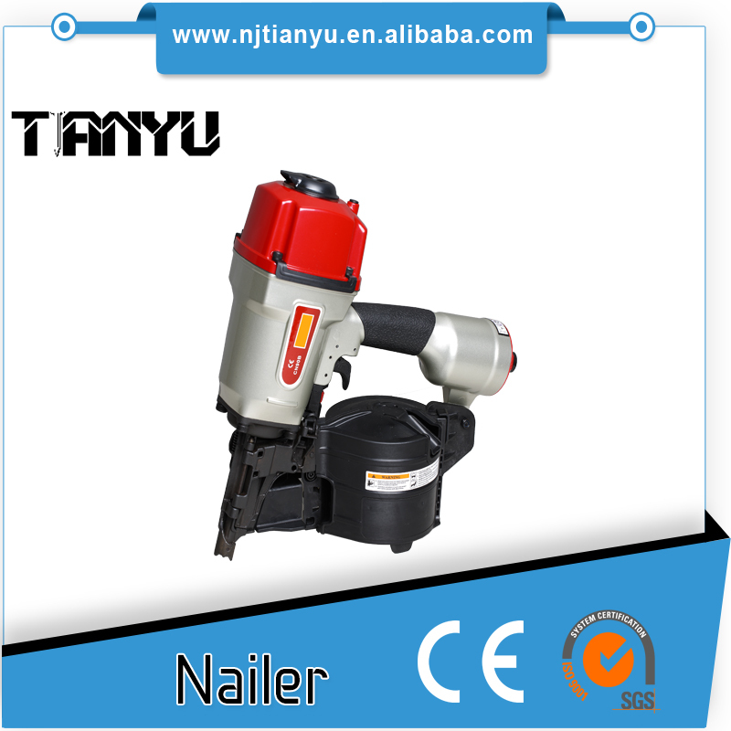 High Quality pneumatic source air nailer Coil Nail gun similar to paslode for construction CN90