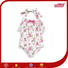 facy high cut one piece transparent sexy baby girl ruffle fabric swimsuit japanese kids models clothing apparel