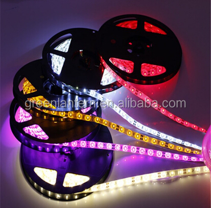 12V 3528-300SMD 5M/roll White/red/blue Waterproof IP65 decorative Flexible Led Strip Light Lamp