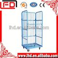 Foldable Shopping Logistics Trolley Carts for warehouse