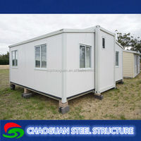Strong insulation capability high class light steel container house/ prefab living home