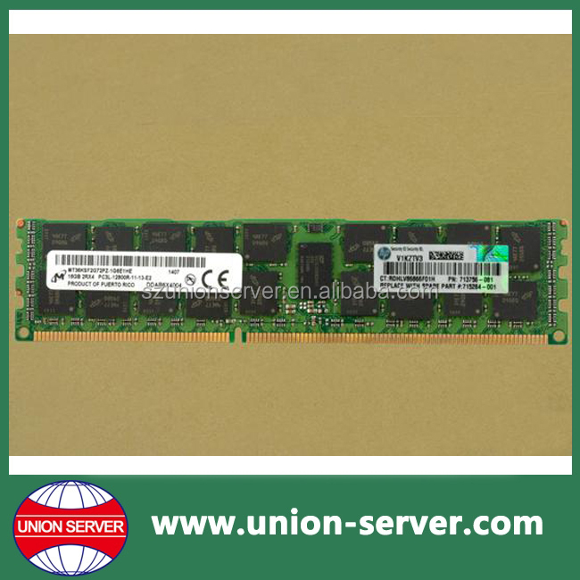 713985-B21 For hp 16GB 2RX4 PC3L-12800R-11 DDR3 1600 (PC3 12800) Memory Kit