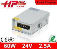 Guangzhou factory direct sell low price rainproof series single output constant voltage 60w 24v switch mode power supply