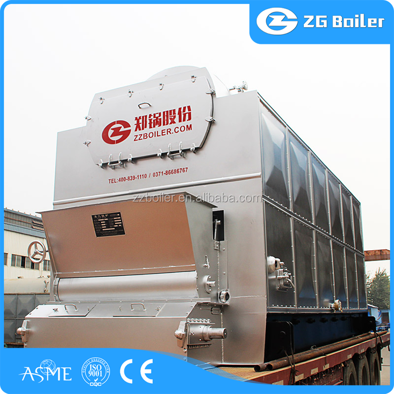 Alibaba new condition advantages of the chain grate stoker fired boiler