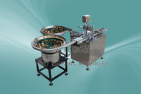 Automatic cap assembly and ultrasonic sealing machine