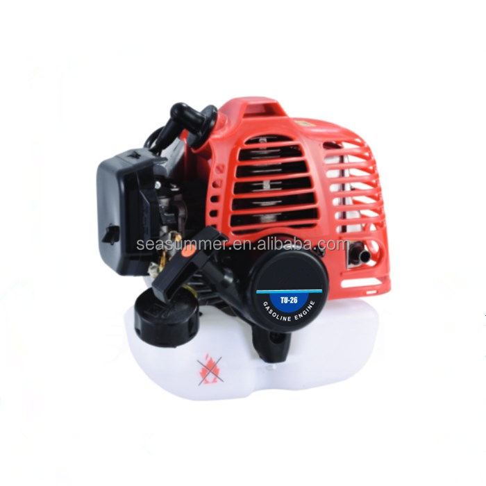 High Quality 2 Stroke 26cc Engine/Air Cooling TU26 Gasoline Engine