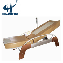electric full body reclining jade massage bed