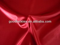 100 polyester heavy royal satin fabric textile for packing lining