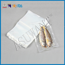 factory custom make transparent plastic vacuum bag for fish and good quality bag for things