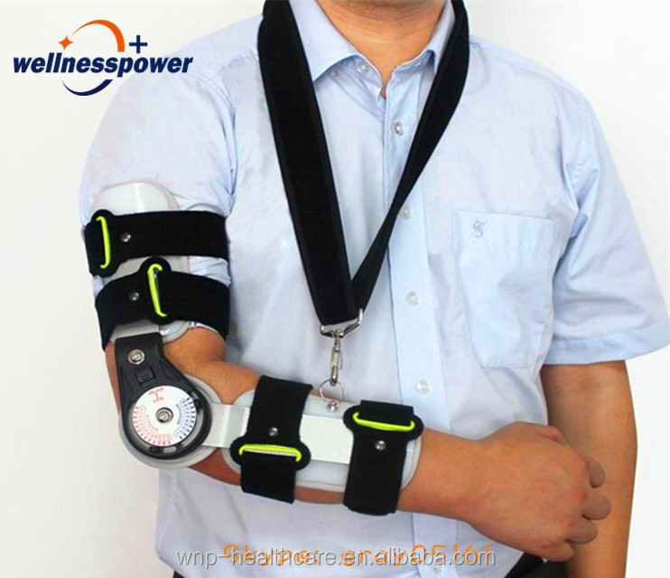 Medical orthopedic arm elbow support brace upper arm brace