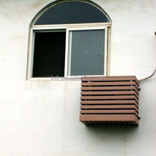 Outdoor waterproof air conditioner protect cover wooden air conditioner cover