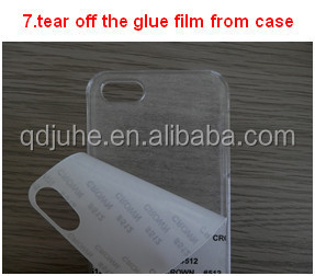 High quality 2D blank customized sublimation cell phone cover for iphone 4/4s