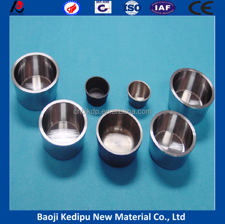 High temperature tungstun crucible/smelting crucibles for jewelry