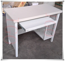Classic Design Durable No-assemble Office Use Steel Computer Table