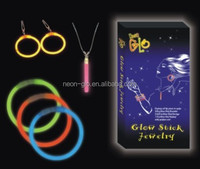 Christmas Gift Novelty Cheap Glowing in the Dark Bracelets for Cheerful