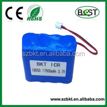 ICR 18650 17600mah 1S8P 3.7v icr 18650 li-ion rechargeable battery