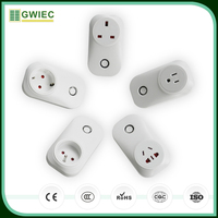 GWIEC China Products Remote Control Universal Electrical Wifi Smart Socket With Plug