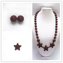Fashion Eco-friendly Beads Chew Jewels Sister Necklace Set