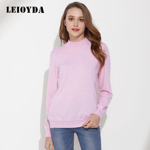 Wholesale Fashion New Style Women Knit Sweater Pink Wool Woman Sweater