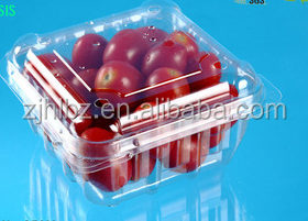 Customized transparent tomato buleberry blister packaging clamshell Packaging