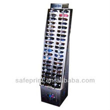 2013Hot selling paper display box sunglass display