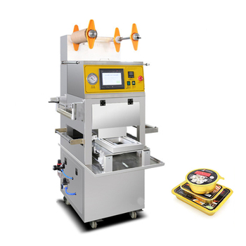 NEWEEK vacuum box vertical bowl plastic sealing machine price