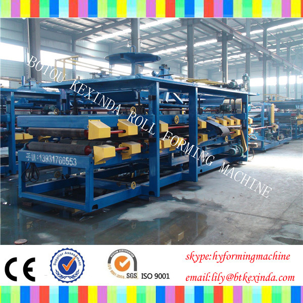 epe Foam Sheet Sandwich Panel Making Machine/Production Line for EPS Composite Panel