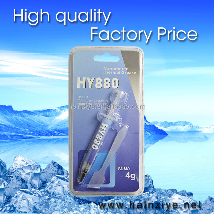 Best performance and high cooling HY880 thermal paste/grease for laptop cpu heatsink