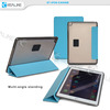 Hot selling flip stand leather smart cover for ipad air 2