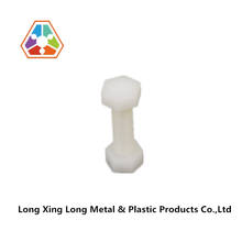PP M8*25mm white Plastic Nuts & Bolds for operation machine leg