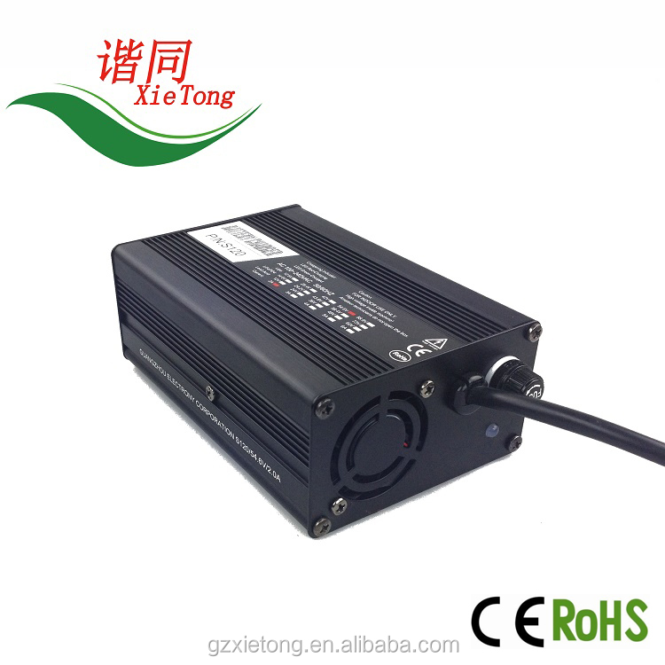 S120 li-ion customised 12v 24v 48v 60v 72v 10Ah 20Ah lithium ion battery charger for e-bike electronic scooter