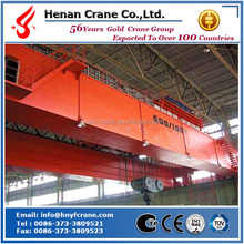 Double Beam Electric Overhead Crane for Material Handling Used in Construction