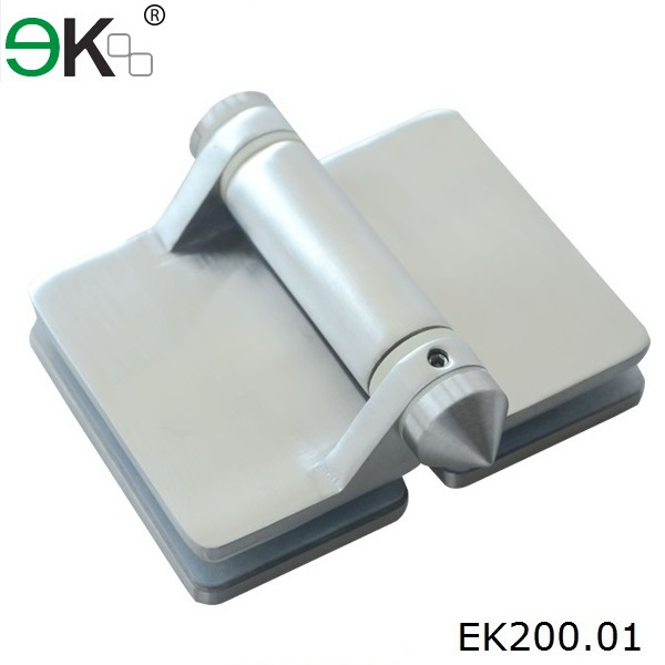 heavy duty stainless steel glass fence hinge 180 degree