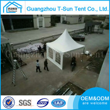 Easy up outdoor aluminum structure 4*4 5*5 polyester pagoda tent for sale