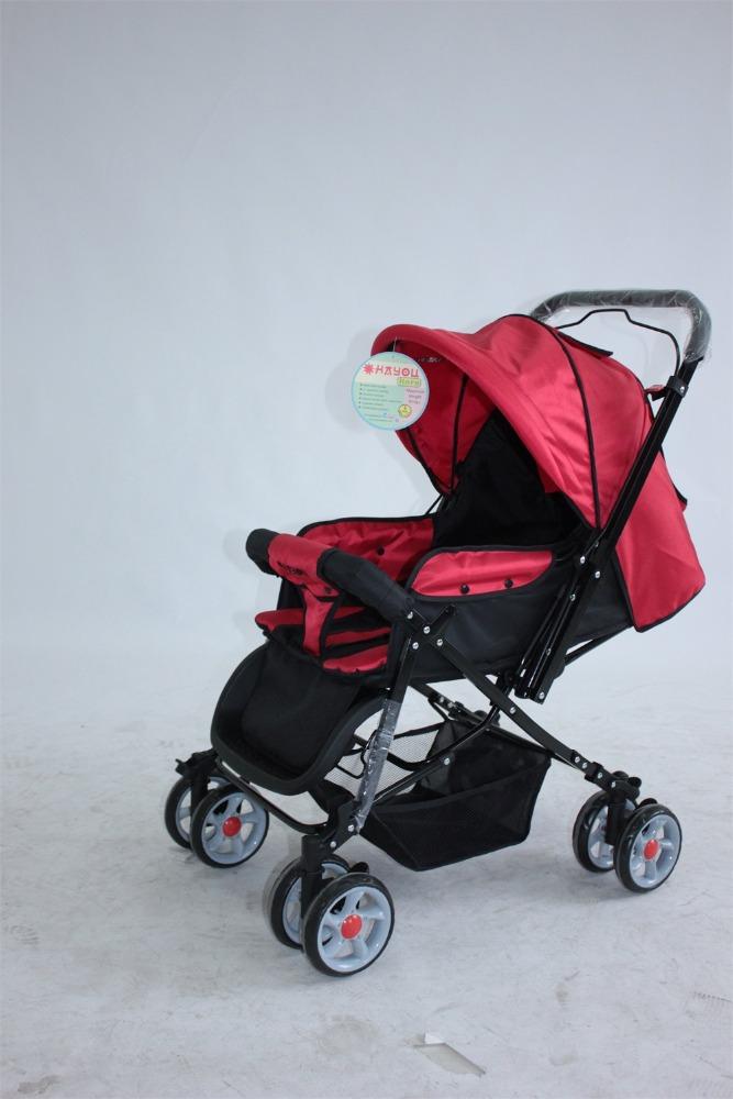 Travel system high landscape baby stroller pram folding Motorized baby stroller