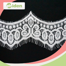 fantastic and latest wave lace trimming african swiss lace fabric for curtains