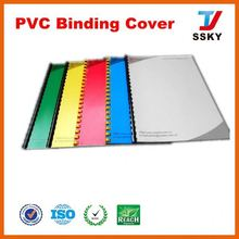 Best design with book cover waterproof pvc cover