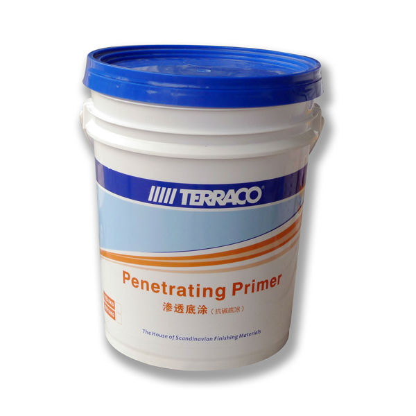 Terraco P. Primer (White) - Waterbased Primer for paints and coatings