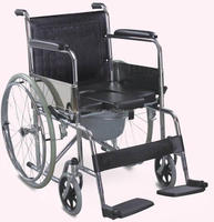 handicapped equipment wheelchair with toilet for disabled toilet seat sex chair RJ-C609(U)