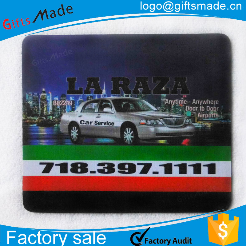 Promotional Fashionable Custom Printed Cheap Rubber Cool Mousepads