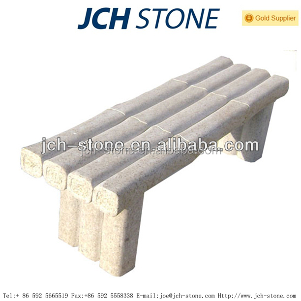 China manufacturers supply stone garden bench