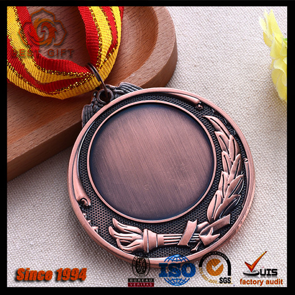 Antique blank award medal ,Custom souvenir metal medal