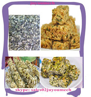 semi automatic pumpkin seeds brittle making machine for factory price