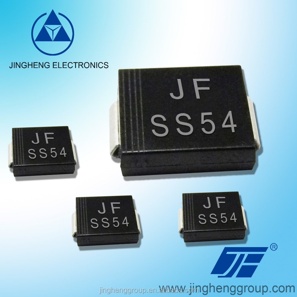SMC DO-214AB package SS54 5A 40V Schottky Diodes