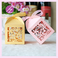 Paper box factory price souvenir box haoze craft wholesale craft supplies with beautiful flower TH-34